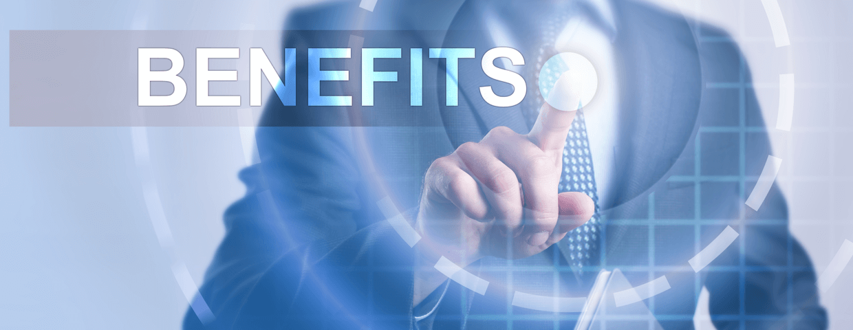 Managed print services benefits concept