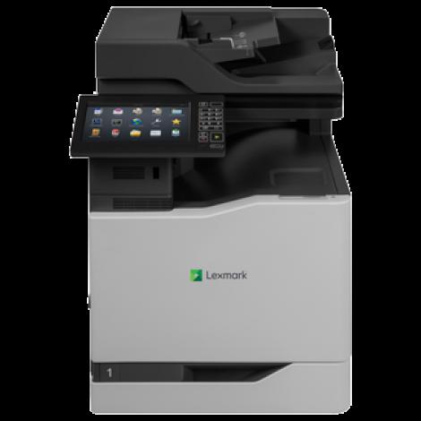 Lexmark CX825deThe CX825de Color Letter A4 MFP Combines Print Speed Of Up To 55